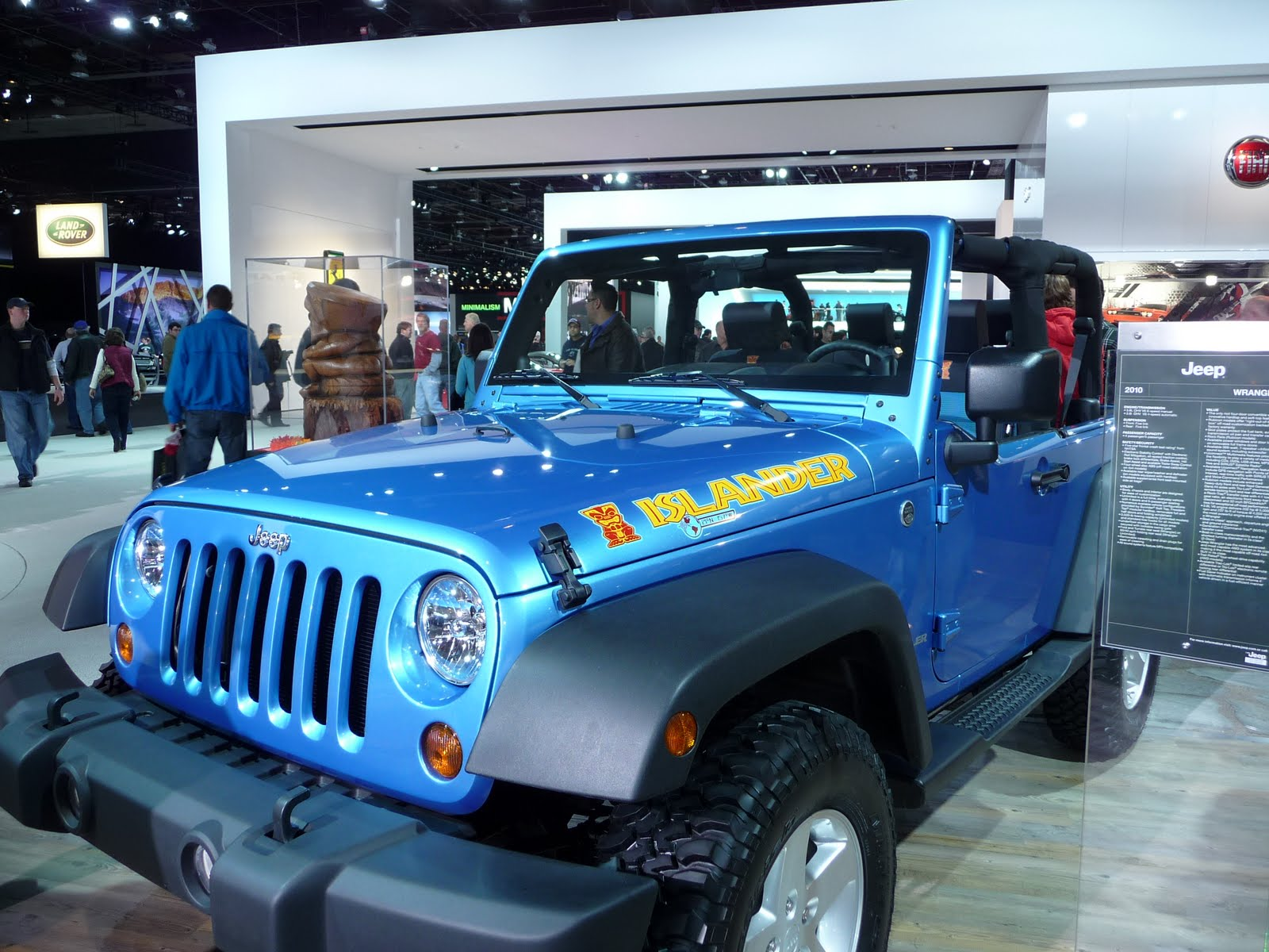 hight resolution of jeep islander wrangler at detroit auto show 2010