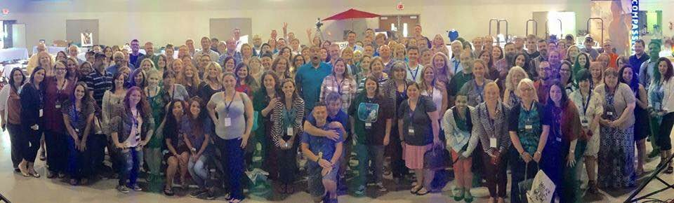 Giant Group shot of Launch Out 2015 attendees.