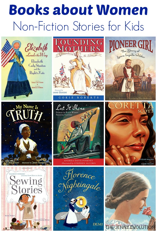 Nonfiction Books About Women For Kids  The Jenny Evolution