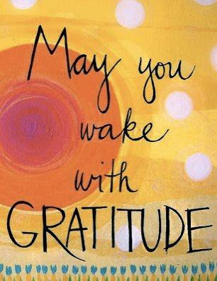 wake with gratitude