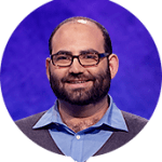 Peter Guekguezian on Jeopardy!