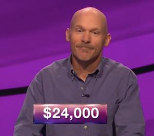 Dennis Fawcett, winner of the September 25, 2017 episode of Jeopardy!