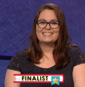 Mary Parker, winner of the September 6, 2017 game of Jeopardy!