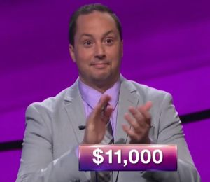 Jesse Parks, today's Jeopardy! champion (for the November 23, 2017 episode.)