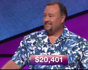Marcus Gresham, tonight's Jeopardy! winner (for the November 24, 2017 episode.)
