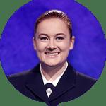 Kelsey van Bokkem on Jeopardy!