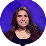 Lindsay Resnick on Jeopardy!