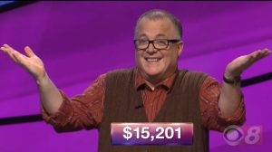 Alan Harrison, today's Jeopardy! winner (for the February 22, 2018 episode.)