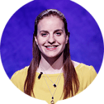Rachel Niegelberg on Jeopardy!