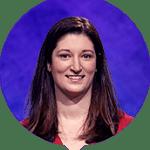 Kristen Krikorian on Jeopardy!