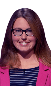 Courtney Llewellyn on Jeopardy!