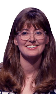 Maggie Beazer on Jeopardy!