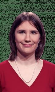 Karen Bascom Lambiotte on Jeopardy!