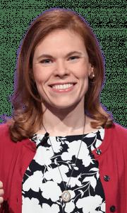 Mariah Minges Klusman on Jeopardy!