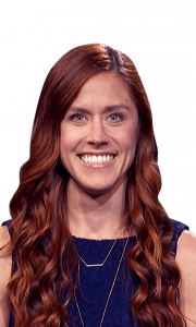 Samantha Slama on Jeopardy!