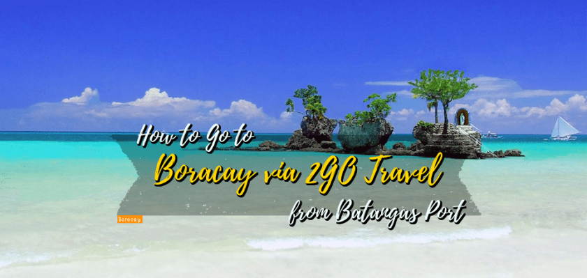 Boracay via 2GO travel - www.thejerny.com
