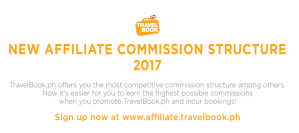 TravelBookPH New Commission Structure - www.thejerny.com