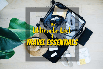 The Ultimate List of Travel Essentials - http://thejerny.com