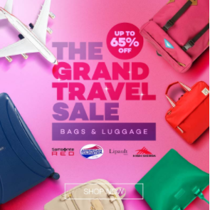 lazada Travel Sale - http://thejerny.com