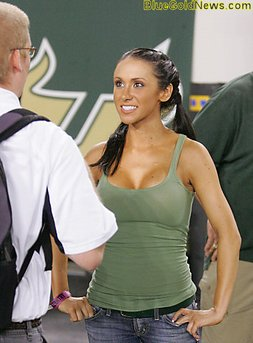 Jenn Sterger meets with the NFL over Brett Favre sext messages  The Jersey Chaser