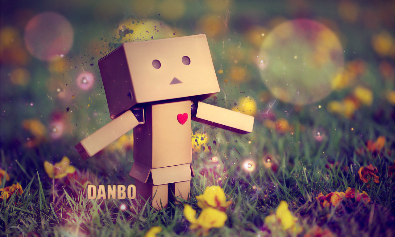 Cute Amazon Box Robot Wallpaper Danbo The Jester S Corner