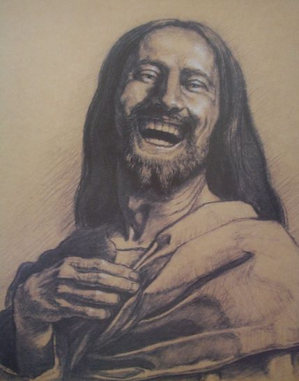 Images Of Jesus Laughing : images, jesus, laughing, Happy, Jesus,, Newish, Conception, Jesus, Question