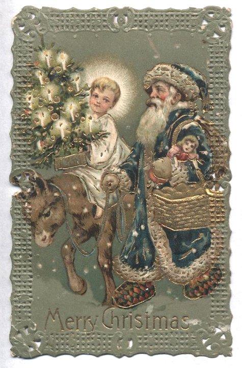 Instead Of Santa Christkindl The Jesus Question
