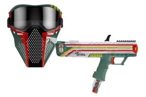 Nerf Rival Apollo XV-700 Star Wars Mandalorian Edition Blaster and face mask