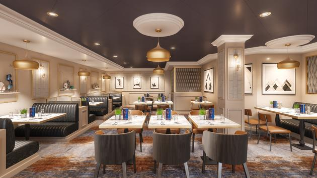 Rendering of The Local Bar and Grill aboard Norwegian Spirit