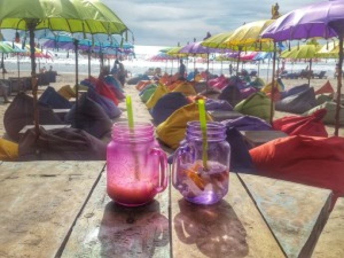 La Plancha Bali Sunset Drinks