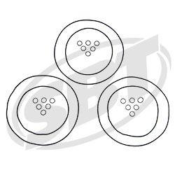 1200 DI Virage Txi /Genesis I Head O'Ring Kit 2001-2005