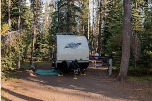 Our Campsite in Mazama Village