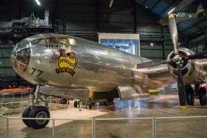 "B-29 ""Bockscar"" that dropped ""Fat Boy"" atomic bomb on Nagasaki"