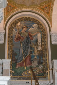 Mosaic of Minerva, Library of Congress