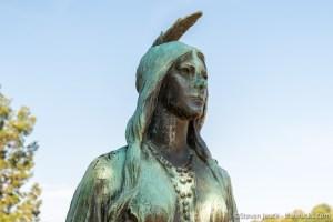 Pocahontas, Jamestown
