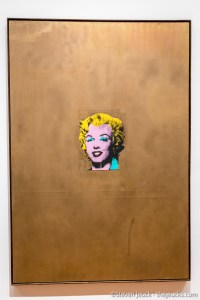 Gold Marilyn Monroe, Andy Warhol