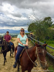 Horseback Riding in the Hills Above Rionegro