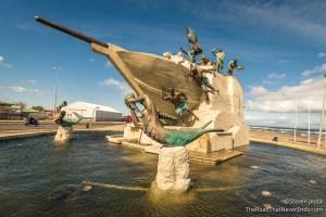 Monumento Goleta Ancud, Punta Arenas