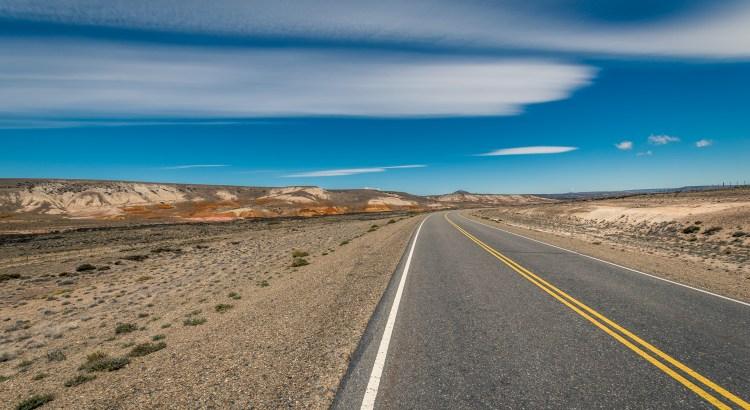 Rte 40 South of Perito Moreno