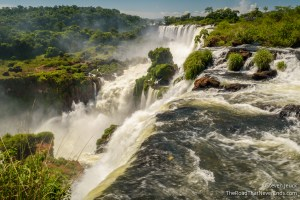 Iguazú Falls from above