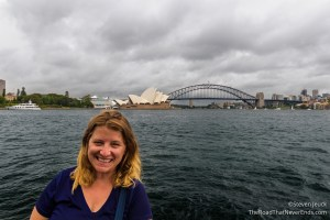 Harbour Bridge and Opera House from Mrs. Macquarie\'s Chair
