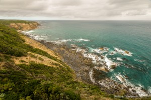View from Cape Otway Lightstation
