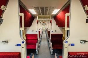 Overnight train from Chiang Mai to Bangkok