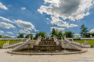 Fountain in the Castle gardens