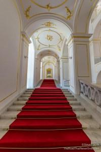 Inside Bratislava Castle