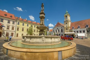 Maximilian's Fountain and Square