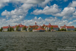 Grand Floridian from the ferry