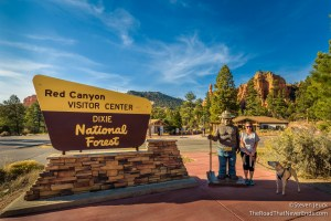 Red Canyon Visitor Center, Dixie NF
