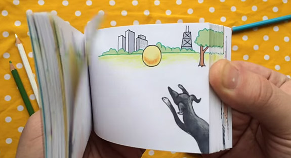 Adorable Flipbook Marriage Proposal Melts This Woman's