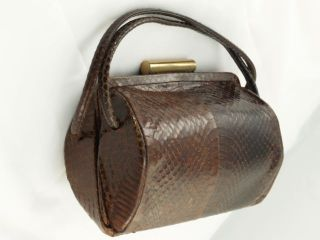 1950s Lizard Skin Purse Alternate View